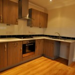 Kitchen in second floor flat - Cherry Tree Lodge