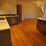 Kitchen/lounge in second floor flat - Cherry Tree Lodge