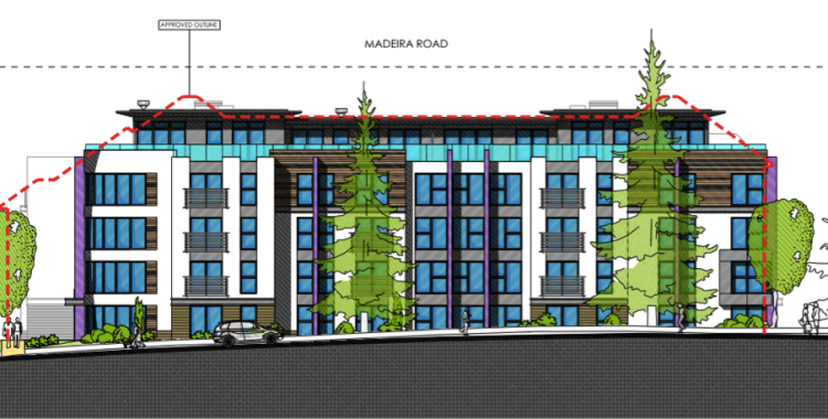 Madeira Road, Bournemouth - new residential development